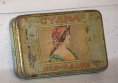 cyan tin by TheCounterTopShop on Etsy