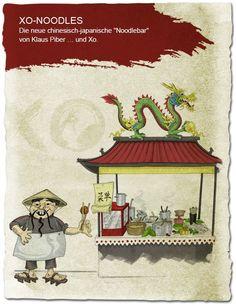 XO NOODLES || Gestaltung Facebook Seite || Erarbeitung Content Strategie || Facebook Content Betreuung || Schaltung Facebook Ads Japan, Facebook, Restaurant, Fictional Characters, Design, Concept, Okinawa Japan, Restaurants, Design Comics