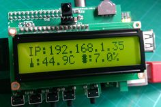 Farnell PiFace Control & Display Raspberry Pi Add-on Board