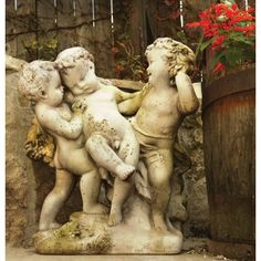 OrlandiStatuary Angels Franciscan Cherubs Statue