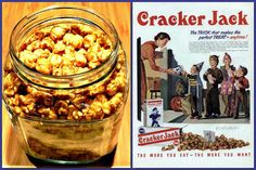 Exchange Peanuts for other nuts!  Yummm!  The Iowa Housewife: Homemade Cracker Jack