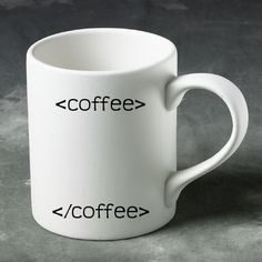 The perfect cup for a coffee geek!