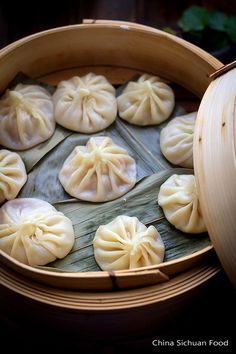 Xiao Long Bao—Chinese Soup Dumpling @ Chinasichuanfood | My husband has a fascination with Asian food and I'm always exploring new foods that I feel I can make at home. This one seems difficult but doable. Now to just get a steamer basket!