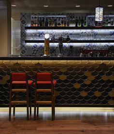 Mediterraneo - all day cafe bar restaurant Marine Limassol -Cyprus Minas kosmidis [architecture in concept]