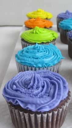Colors CupCakes
