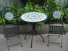 Image result for Mosaic Bistro Set