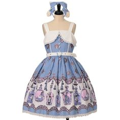 Worldwide shipping available ♪  アリスのティアボトル柄ハートベルトジャンパースカート+カチューシャ  ALICE and the PIRATES  https://www.wunderwelt.jp/en/products/w-24331  IOS application ☆ Alice Holic ☆ release  Japanese: https://aliceholic.com/  English: http://en.aliceholic.com/