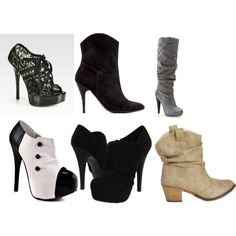 Why yes I'm obsessed with shoes. Especially boots. <3
