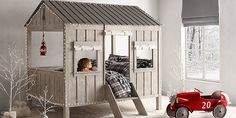 Cabin Bed | Restoration Hardware Baby & Child