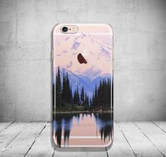 Mountain iPhone 6 Case Clear iPhone 6s Case Clear iPhone by PaiBai #iphone6cases,