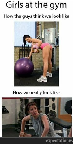 Gym: Expectation Vs Reality