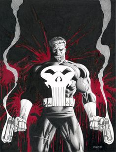 The Punisher is a fictional character, an antihero that appears in comic books published by Marvel Comics. Description from imgarcade.com. I searched for this on bing.com/images