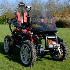 Overlander 4 true off road wheelchair by Terrain Hopper