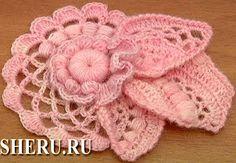 Розовый элемент фриформа. Мастер-класс