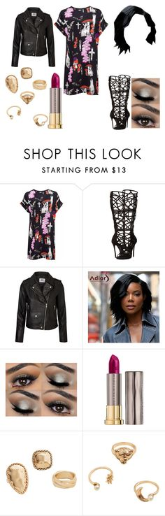 """Untitled #544"" by nerdynerdy on Polyvore featuring Louise Coleman, Dsquared2, Vero Moda, Urban Decay and MANGO"