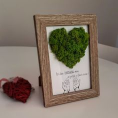 Moss Decor, Moss Wall Art, Dried Flowers, Lettering, Decorating, Frame, House, Outdoors, Terrariums