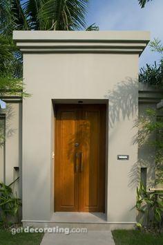 Cercos para patio ideas para cercos muros dise o de for Portones de entrada principal
