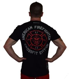 Mens Fire Fighter Printed T Shirt Adult Short Sleeve Casual Fancy Dress Top Tees