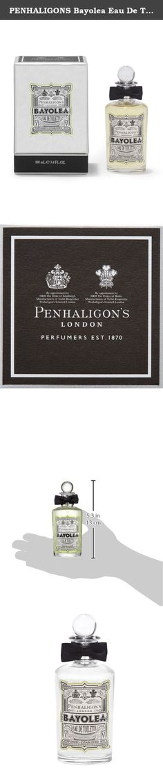 PENHALIGONS Bayolea Eau De Toilette for Men, 3.4 Ounce. Bayolea by Penhaligon`s is a Citrus Aromatic fragrance for men. This is a new fragrance. Bayolea was launched in 2014. Top notes are mandarin orange, tangerine and lemongrass; middle notes are cardamom, black pepper, neroli and lavender; base notes are cedar, sandalwood, musk, moss, patchouli and amber. This product is manufactured in UK.