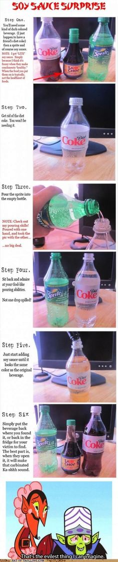 awesome prank definatly will do this one day...... watch out friends :)