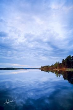 Unspoiled, a landscape photo of a lake from Kuopio, Finland.