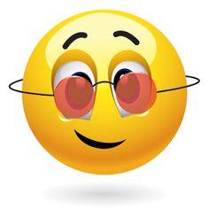 Emoticon with rose colored glasses Symbols Emoticons, Funny Emoticons, Emoji Symbols, Funny Emoji, Facebook Emoticons, Smiley Emoticon, Happy Smiley Face, Emoji Images, Face Images