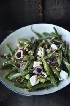 Kitchen Magic, Snack Recipes, Snacks, Feta, Asparagus, Green Beans, Catering, Good Food, Brunch