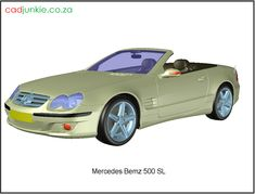 3D Vehicle: Mercedes Benz 500 SL AD Format:      AutoCAD 2013  Block Type:         3D Mesh  Units:                    mm Autocad, Mercedes Benz 500, 3d Mesh, 3d Cad Models, Cad Blocks, Sport Cars, The Unit, Type, Vehicles