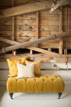 Found Vintage Rentals | color theory YELLOW