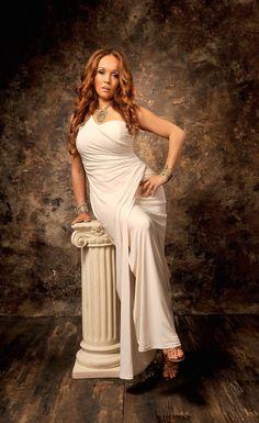 Venus on a pedestal.
