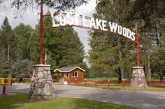 Welcome to Lost Lake Woods Club - love, love, love this place.  It is where our cottage is.