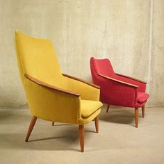 Located using retrostart.com > Lounge Chair by Unknown Designer for Bovenkamp