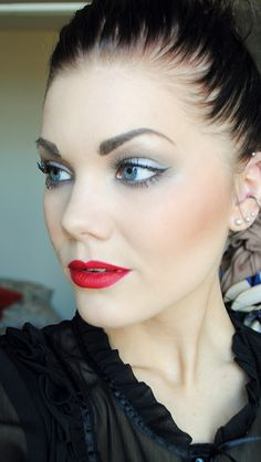 I will forever love bright red lips! Everyone can and SHOULD do this every now and then.. ME, ALL THE TIME
