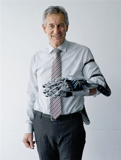 Festo ExoHand lets wearer control robotic hand and feel what the robot grasps
