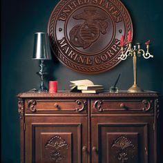 Marine Corps Emblem Honor Plaque