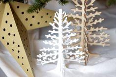 Natuurlijke no-nonsense boom // Mijn kerstboom met Dille & Kamille // nu te lezen op www.cloclo.be