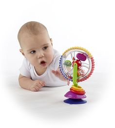 Educational Toys Creative Baby Observe Ferris Wheel Tricolor Rotating 6-12 Month