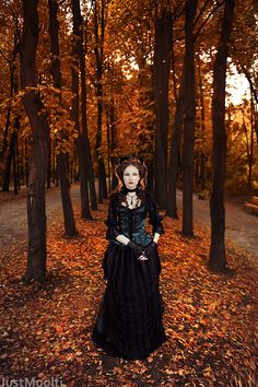 gothic in autumn