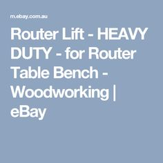 Reviews router lift router table height adjustment raiser raizer reviews router lift router table height adjustment raiser raizer plunge porter cable ebay router pinterest keyboard keysfo Gallery