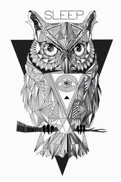 Ensaio de Monomania: [PESSOAL] Um amor - Tatuagens geométricas