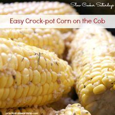 Easy Crock-pot Corn on the Cob