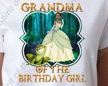 free princess tiana party printables | Birthday Girl Princess Tiana Princess and the Frog Disney Printable ...