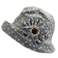Floral Design Cloche Hat Summer Hats For Women, Cloche Hat, Cool Hats, Headbands, Floral Design, Lion Sculpture, Styles, Cotton, Fun