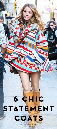 Plus shop 11 statement coats that Blake Lively would totally wear