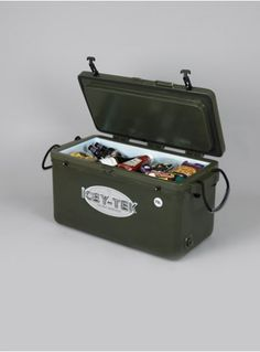 Keep Ice Up To 10 Days! 95 Quart Cooler by Icey Tek, $369.99 (http://www.icey-tek-coolers.com/95-quart-cooler-icey-tek/)
