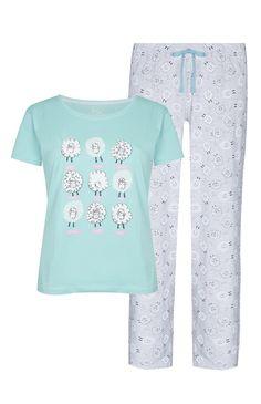 Primark - Counting Sheep Pajama Set