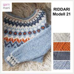 no - Spesialist på islandsk ull Fair Isle Knitting Patterns, Baby Cardigan Knitting Pattern, Knitting Charts, Nordic Pullover, Nordic Sweater, Norwegian Knitting, Icelandic Sweaters, Knitting For Kids, Knit Fashion
