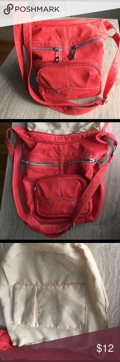 Crossbody bag Multiple packets. Color red orange joe boxer Bags Crossbody Bags