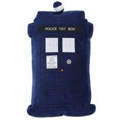 Doctor Who Tardis Pillow. Got this for Christmas! :D