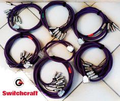 Mangueras digitales #GothamAudioCable + Conectores XLR #Switchcraft formato #TASCAM